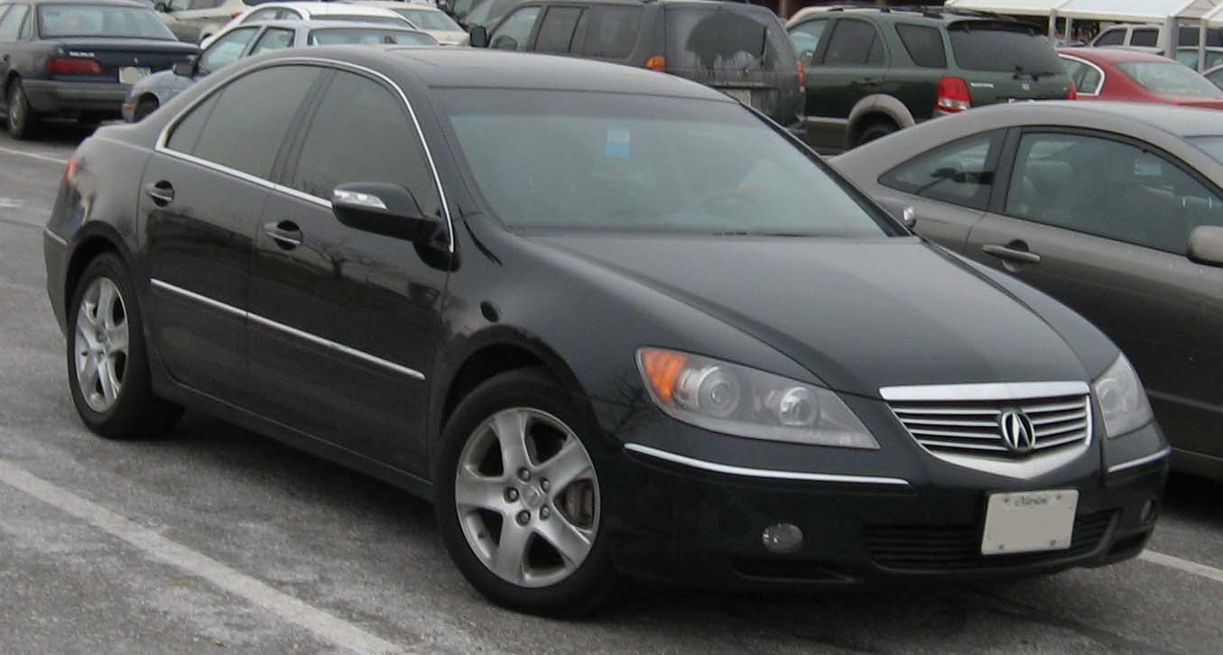 acura rl pictures