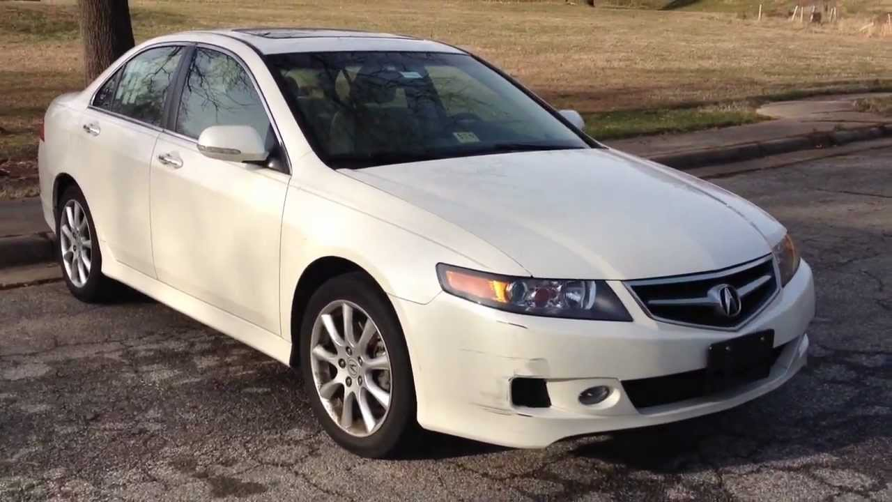 acura tsx 2007 images