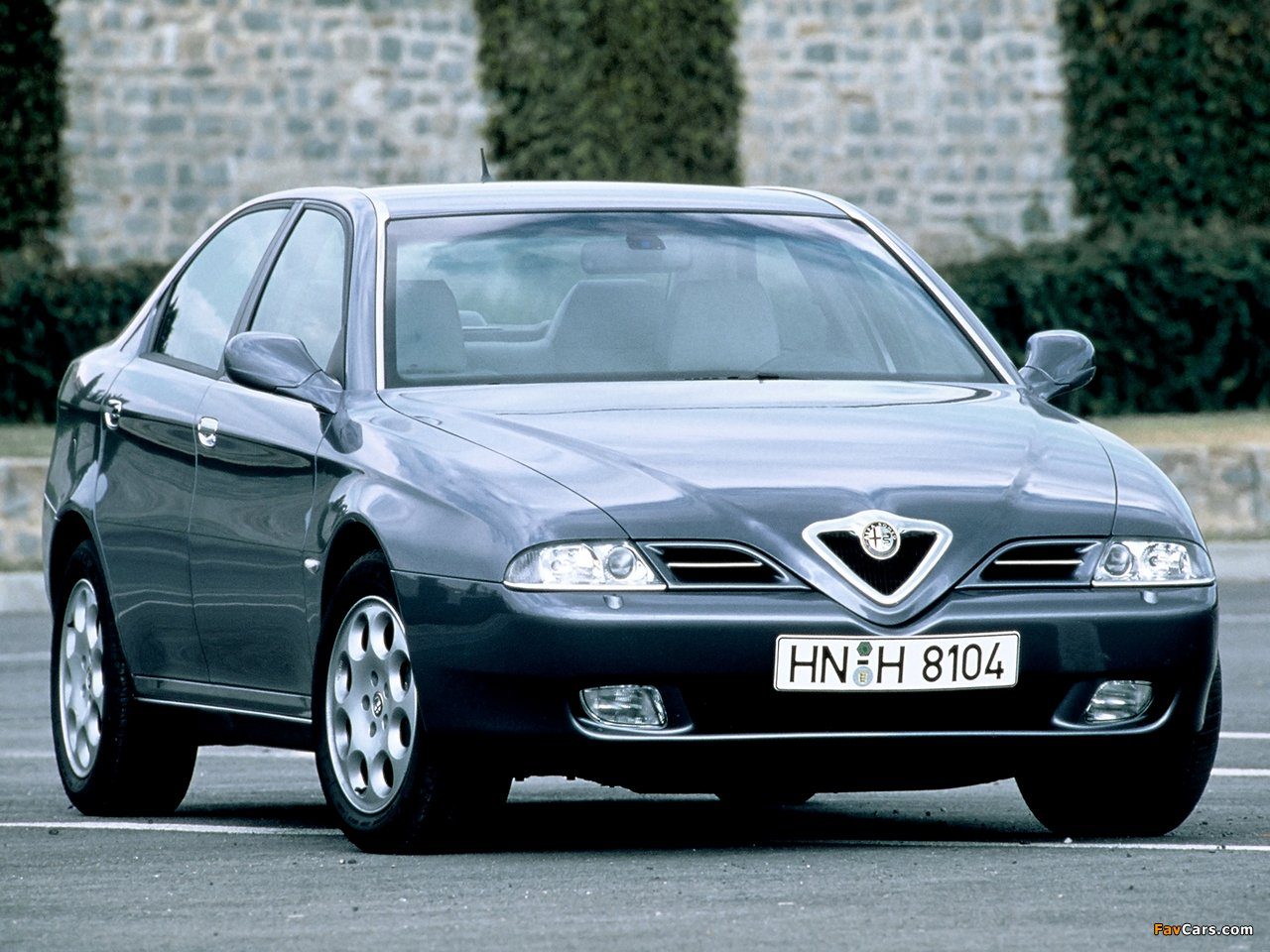 alfa romeo 166 (936) 2003 wallpaper #2