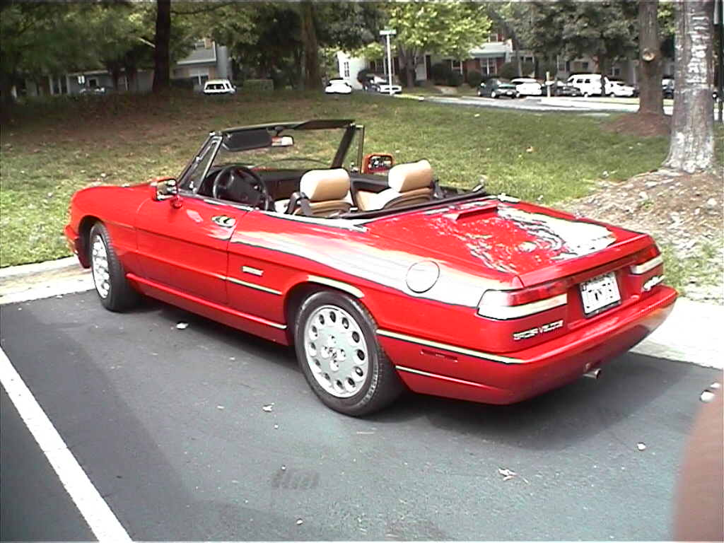 1991 alfa romeo spider (115) – pictures, information and specs
