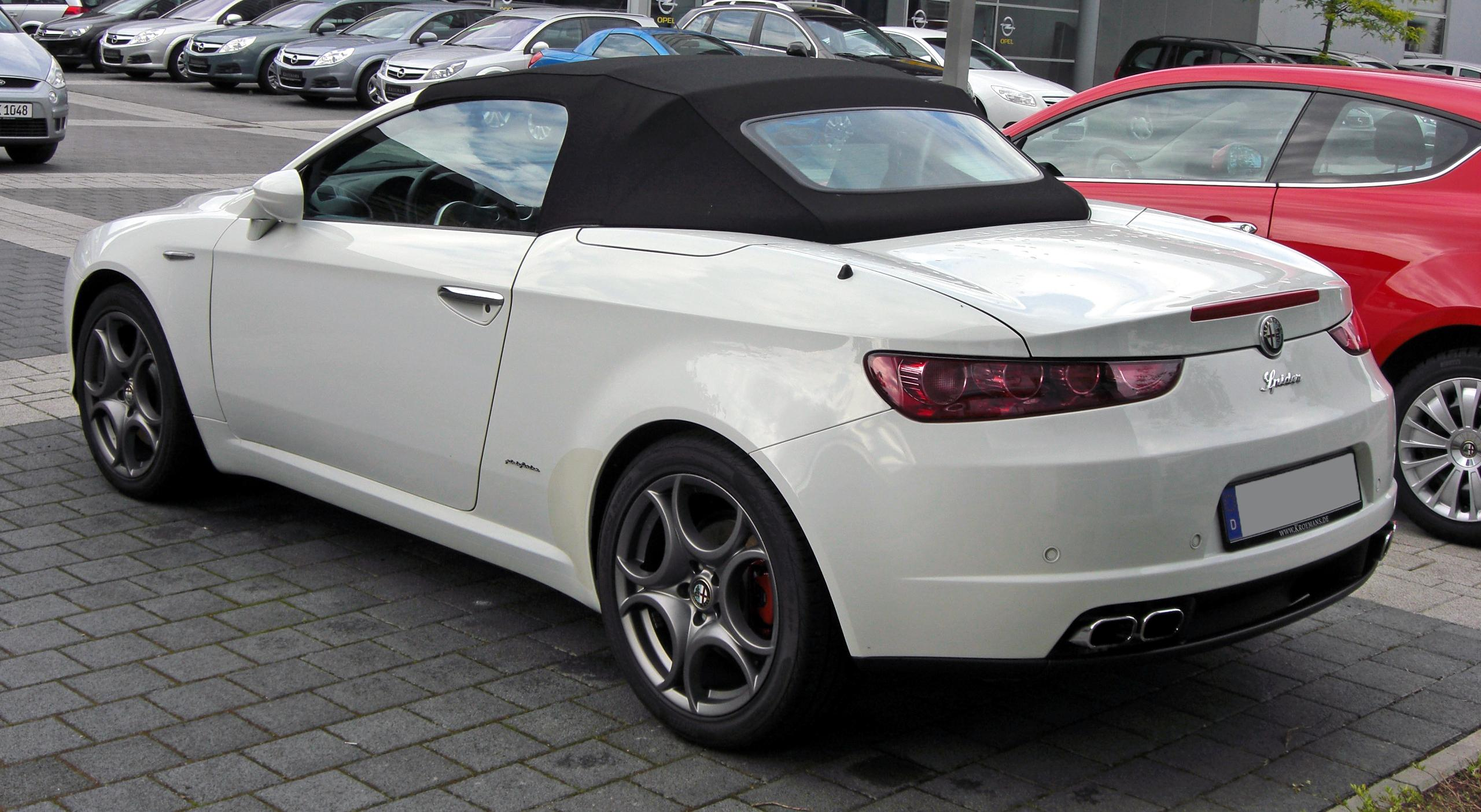 2009 alfa romeo spider pictures information and specs auto. Black Bedroom Furniture Sets. Home Design Ideas