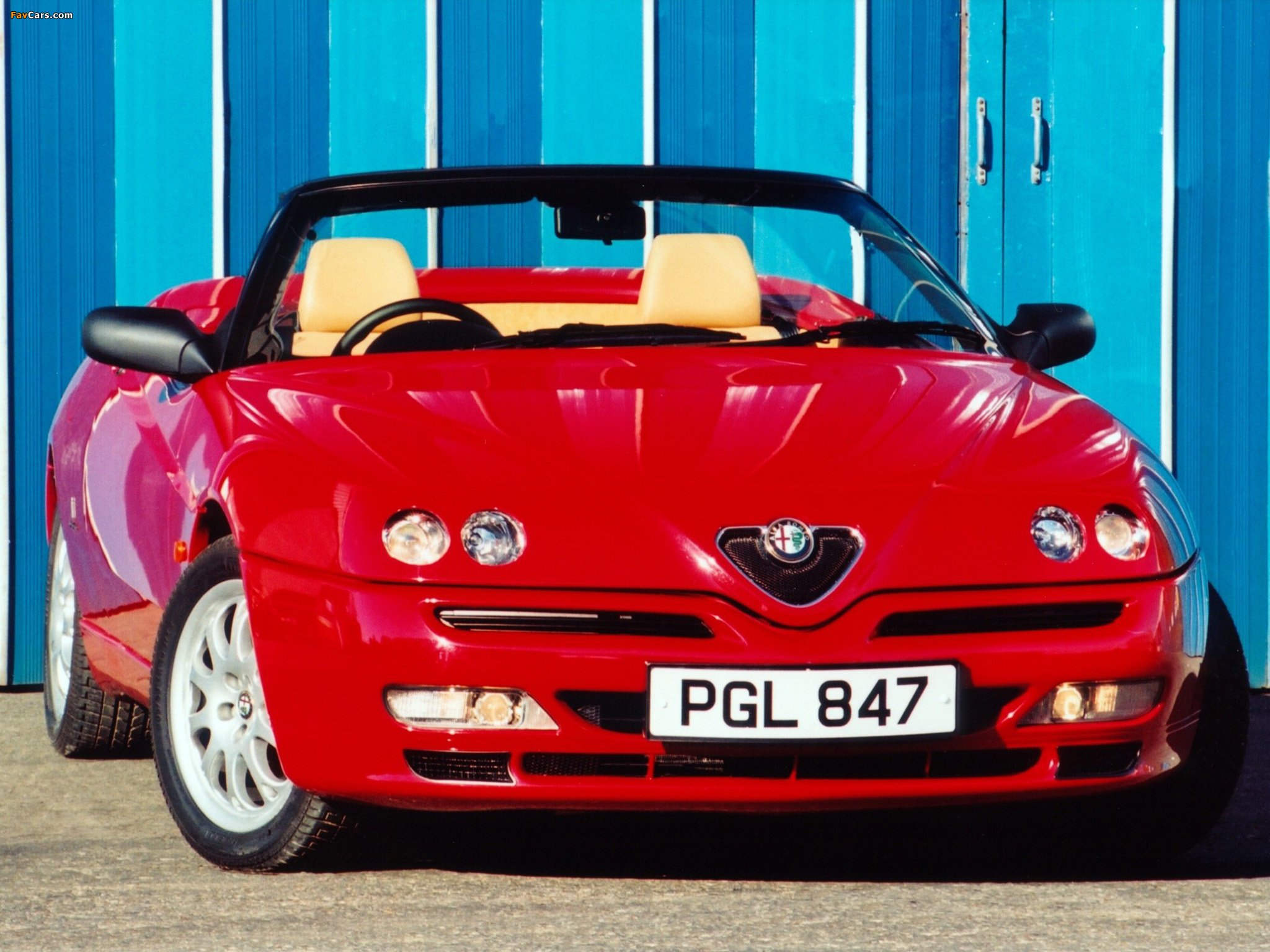 1998 Alfa romeo Spider (916) – pictures, information and ...