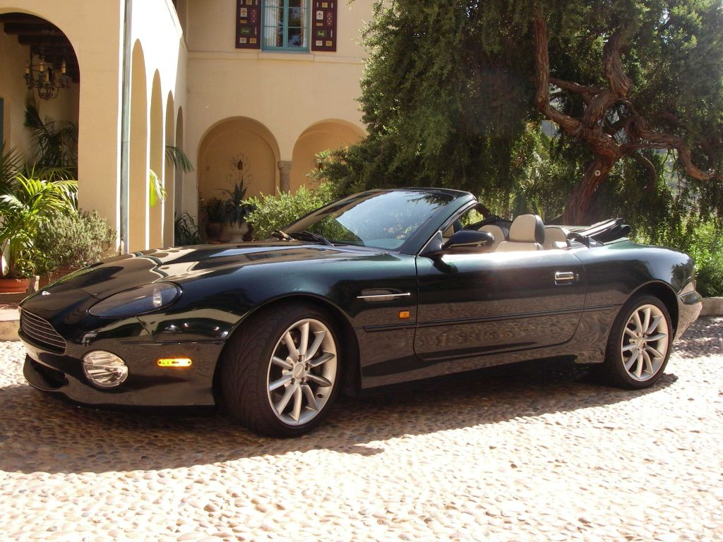 2007 aston martin db7 volante – pictures, information and specs