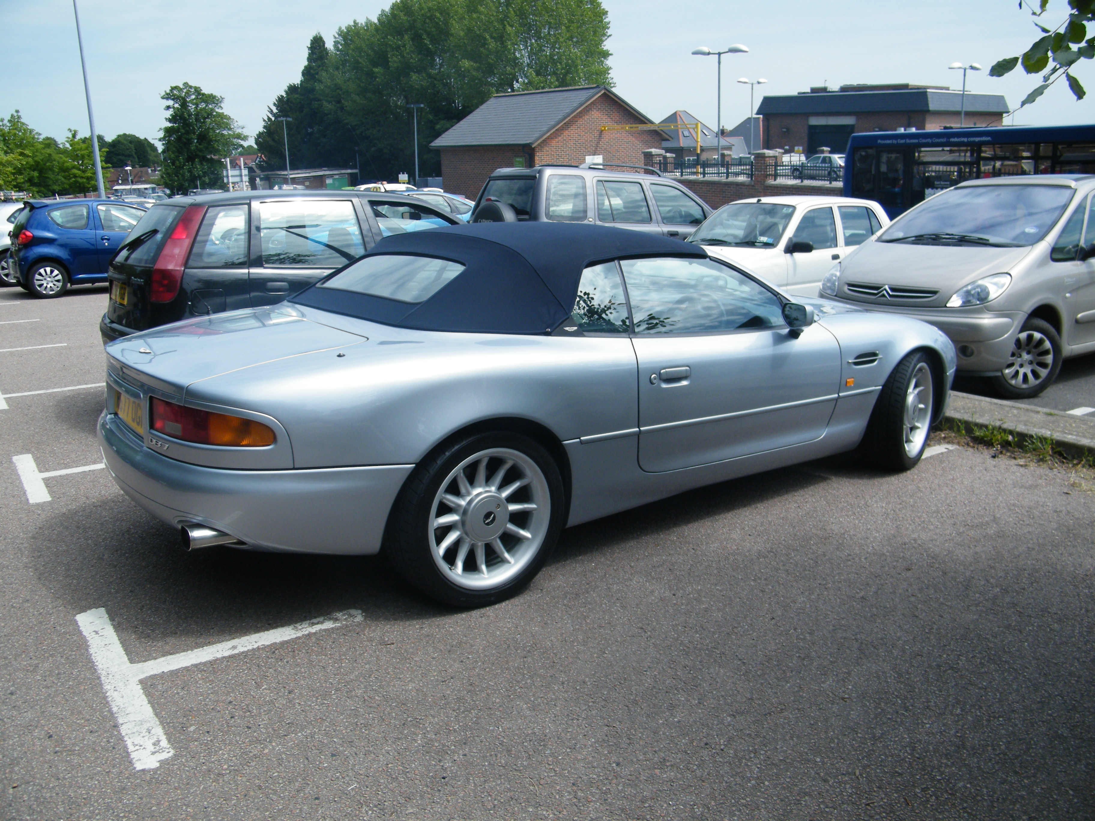 2014 aston martin db7 volante � pictures information and