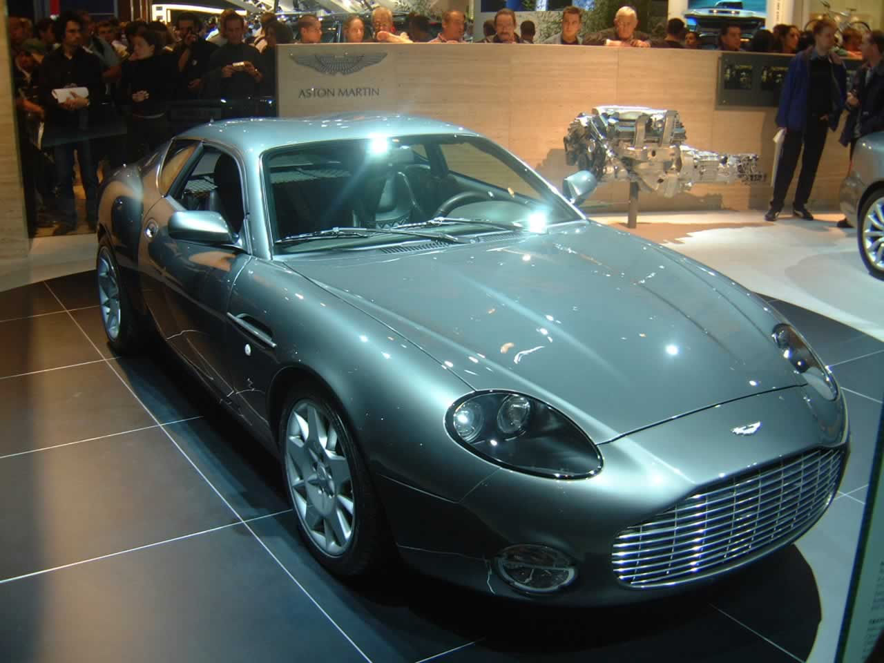 2008 aston martin db7 zagato – pictures, information and specs