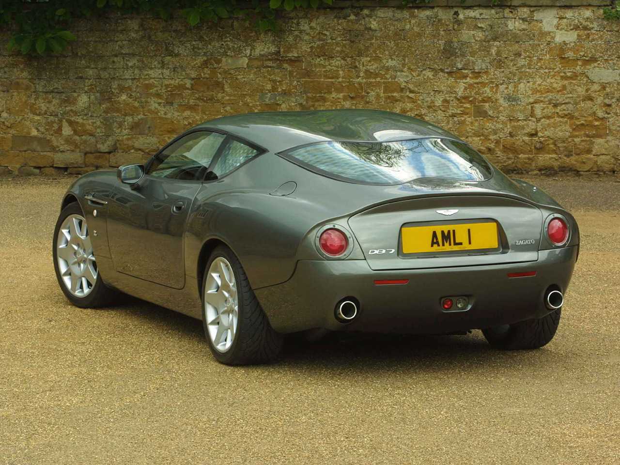 aston martin db7 zagato 2014 wallpaper #7