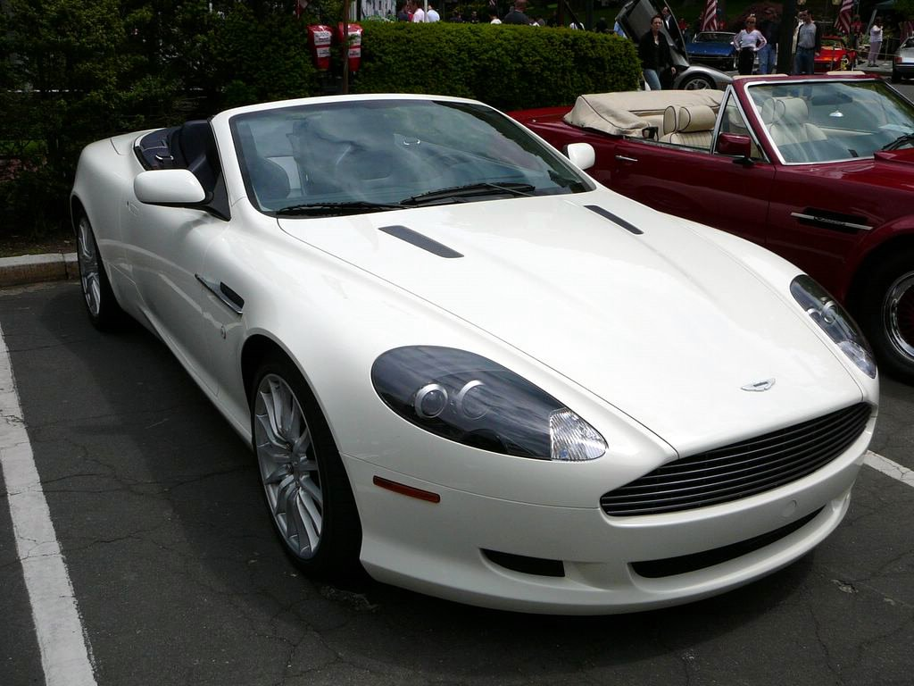 aston martin db9 coupe 2003 images #7