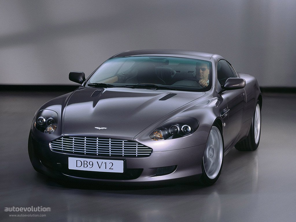 aston martin db9 coupe 2009 #13