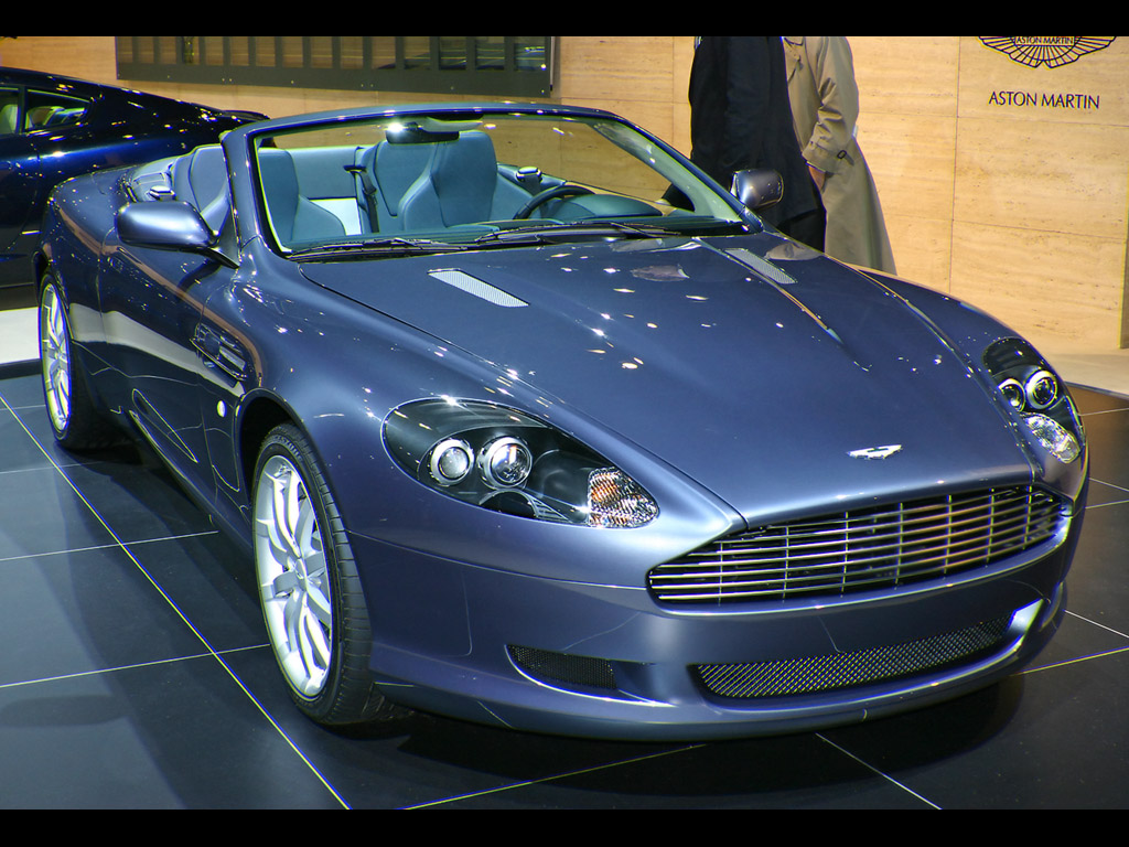 aston martin db9 voltane 2004 images