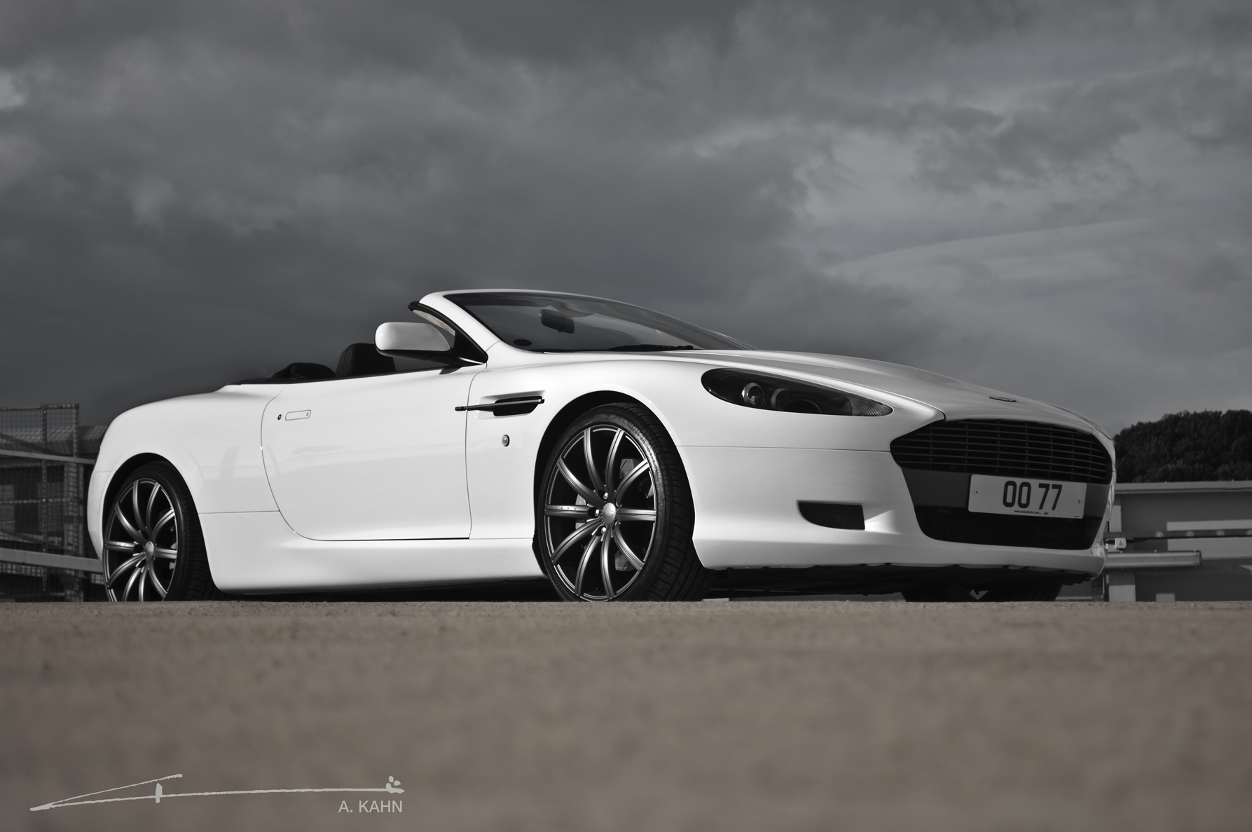 aston martin db9 voltane 2008 images