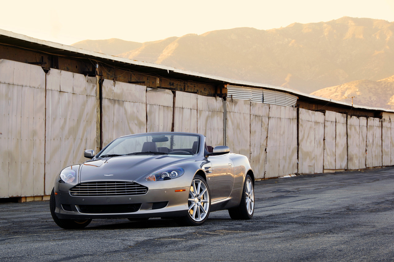 aston martin db9 voltane 2009 images
