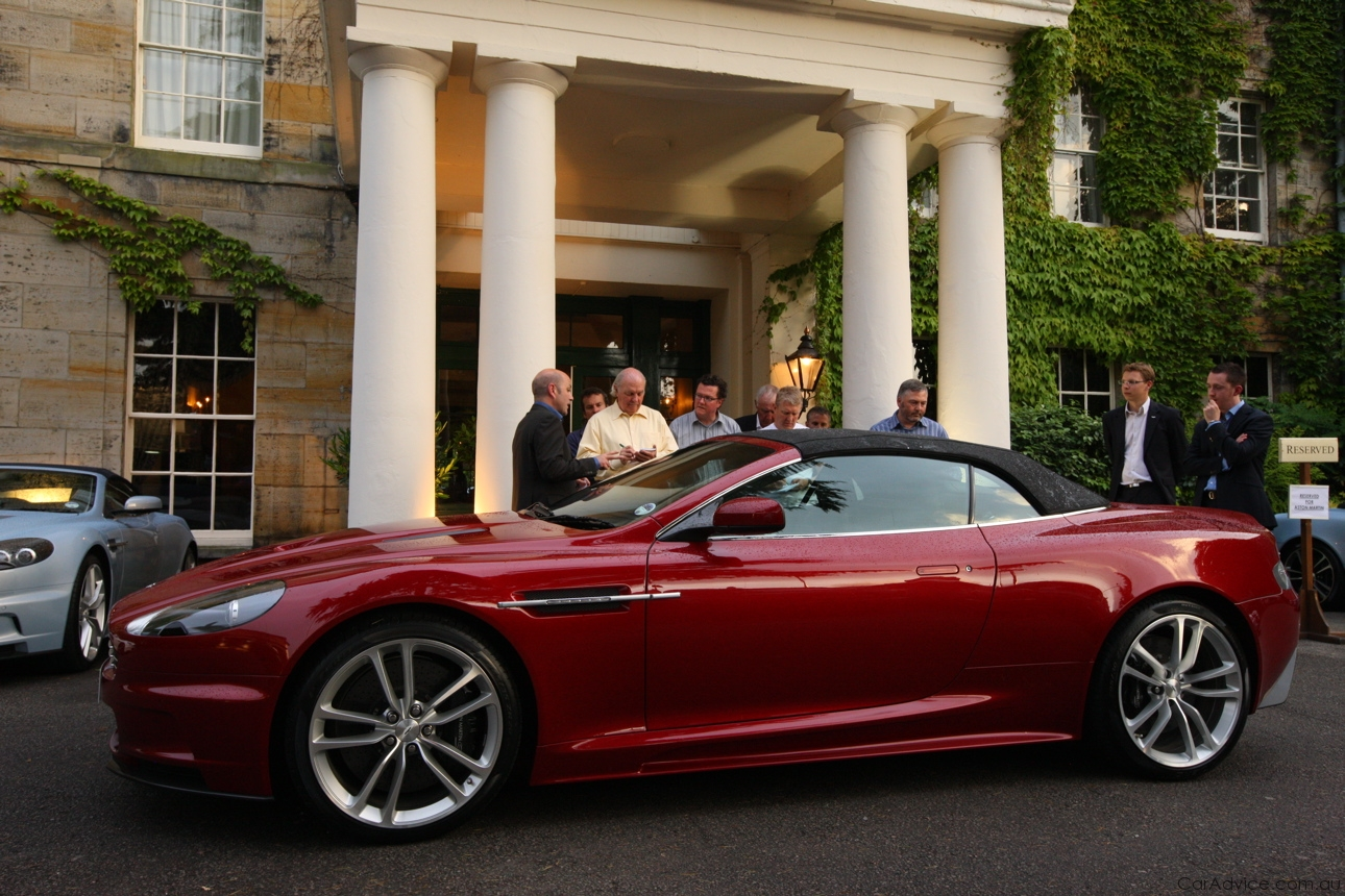 2009 Aston Martin Dbs Volante Pictures Information And Specs