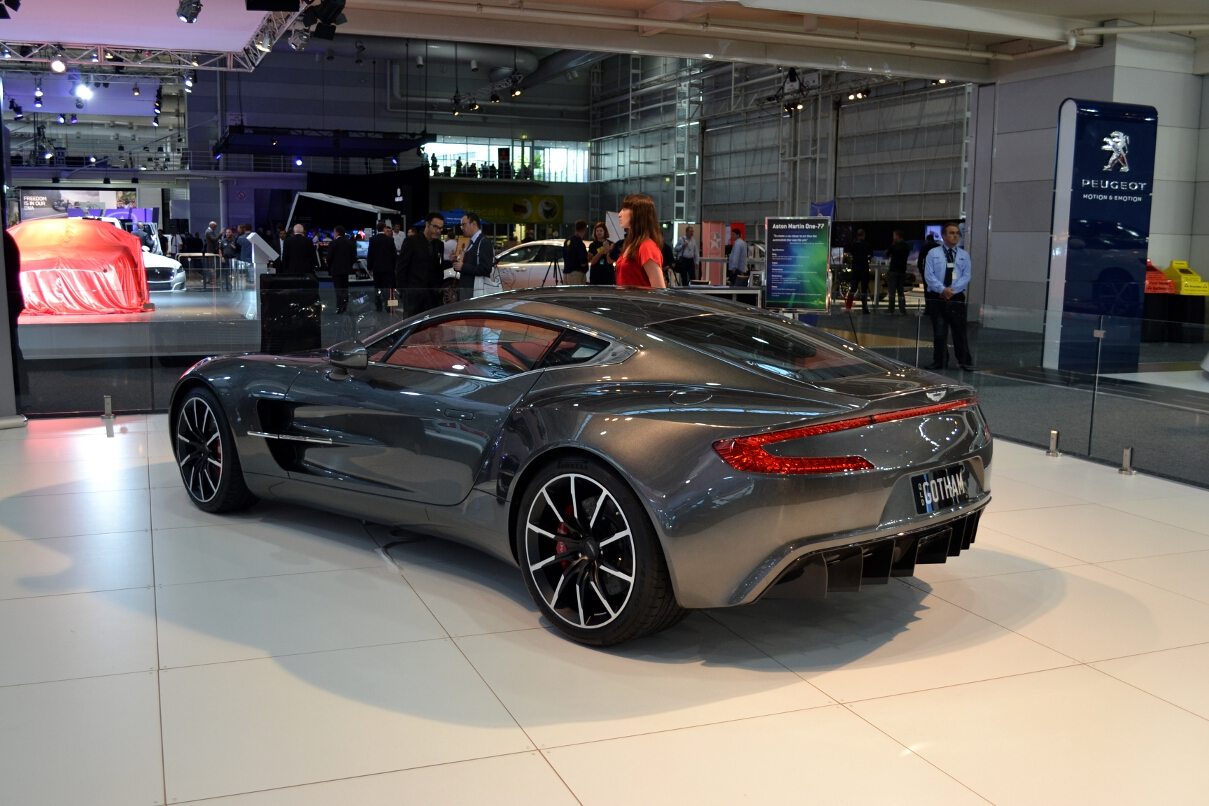 Aston Martin One 77 2012 Auto Database Com