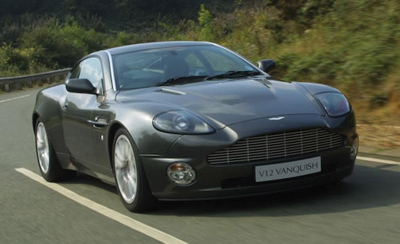 2002 aston martin vanquish pictures information and. Black Bedroom Furniture Sets. Home Design Ideas