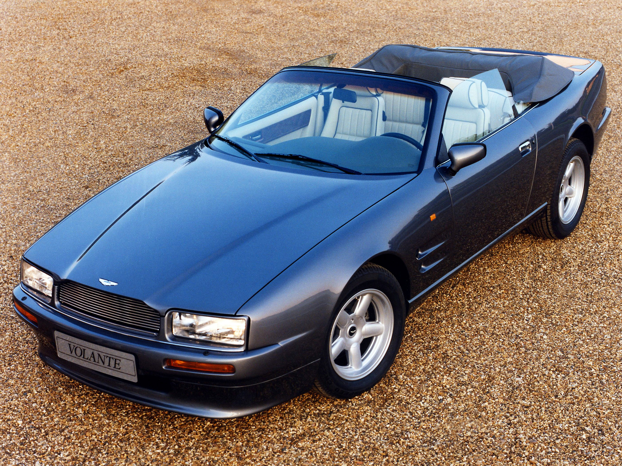 aston martin virage volante 1992 images