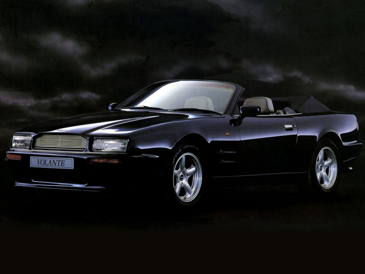 aston martin virage volante 1992 wallpaper