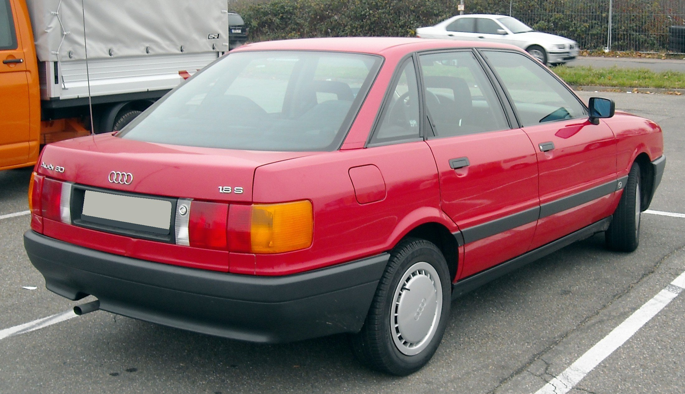 1990 Audi 80 (b3) - pictures, information and specs - Auto ...