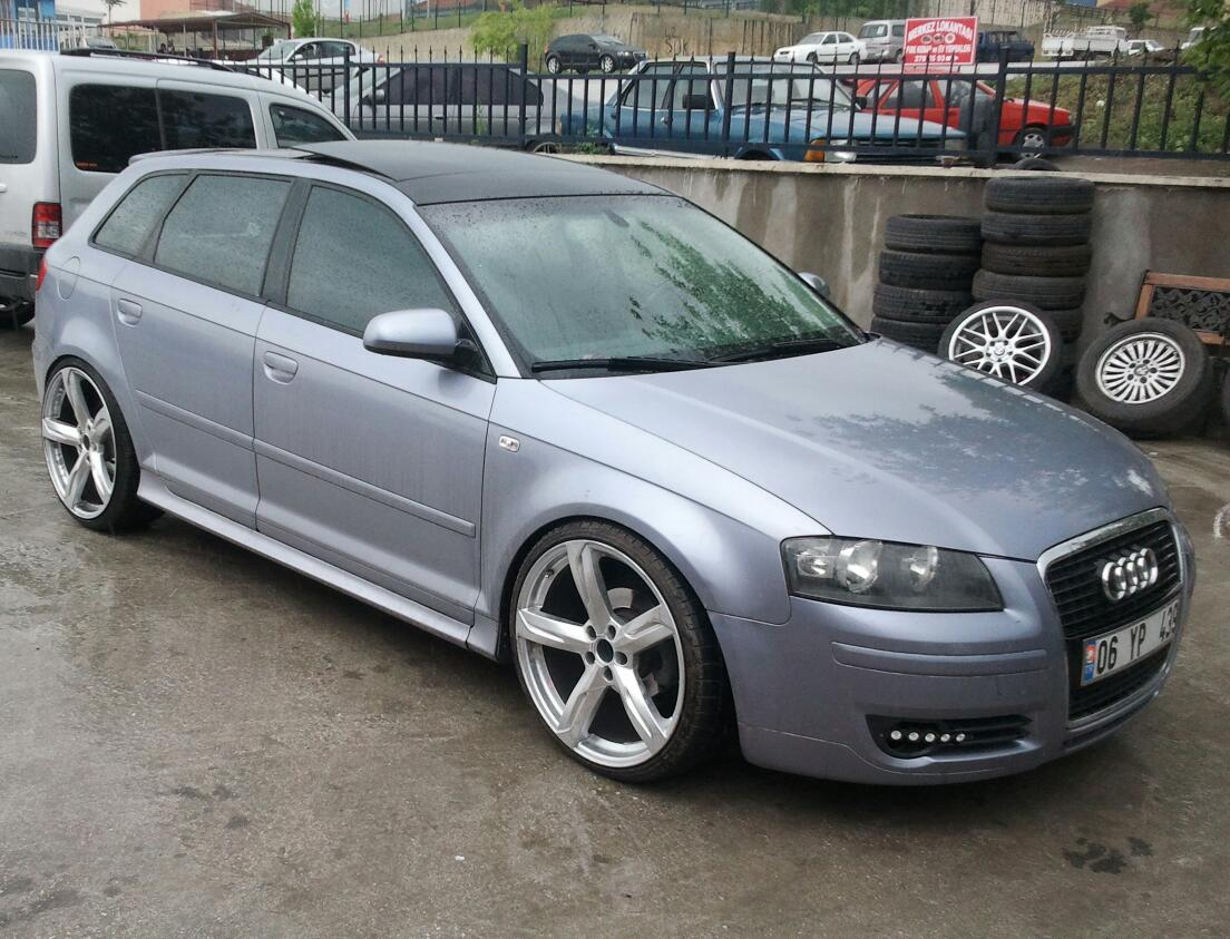 2006 Audi A3 Sportback  8p   U2013 Pictures  Information And