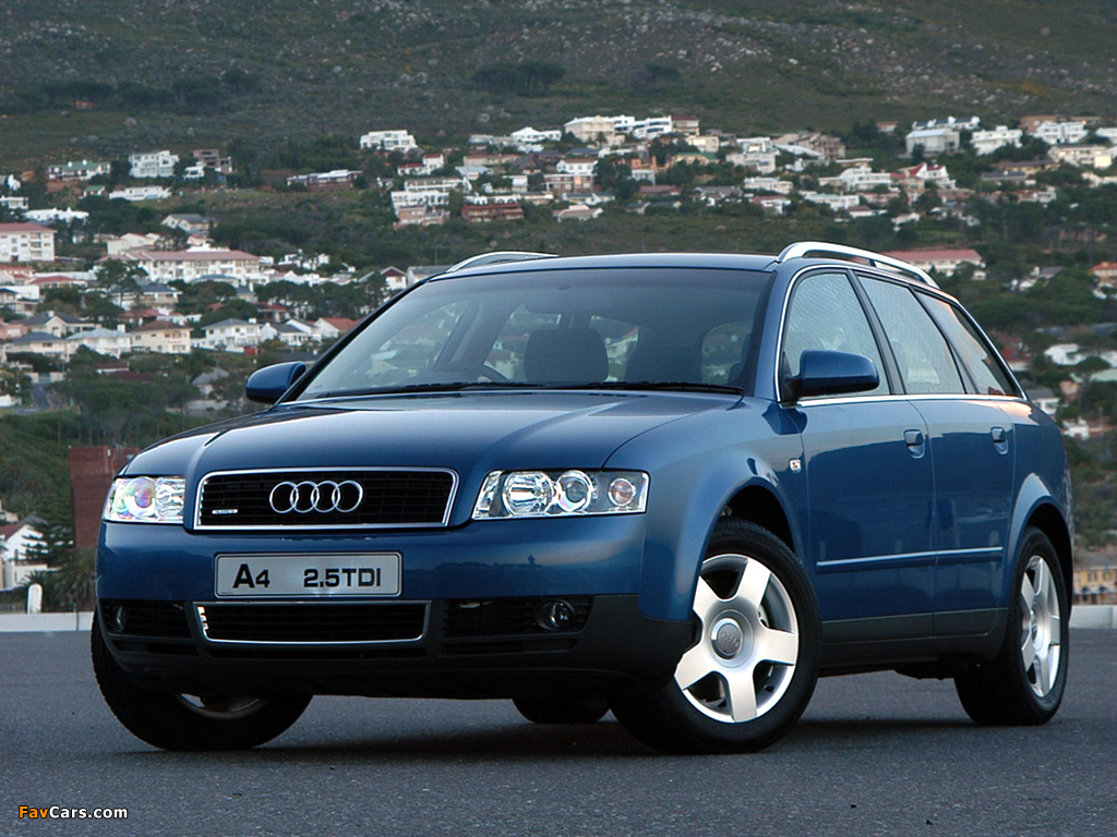 2001 audi a4 avant 8e pictures information and specs. Black Bedroom Furniture Sets. Home Design Ideas