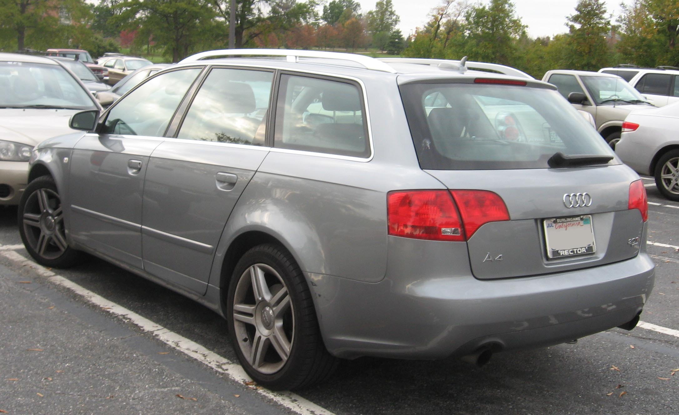 2006 audi a4 avant 8e pictures information and specs. Black Bedroom Furniture Sets. Home Design Ideas