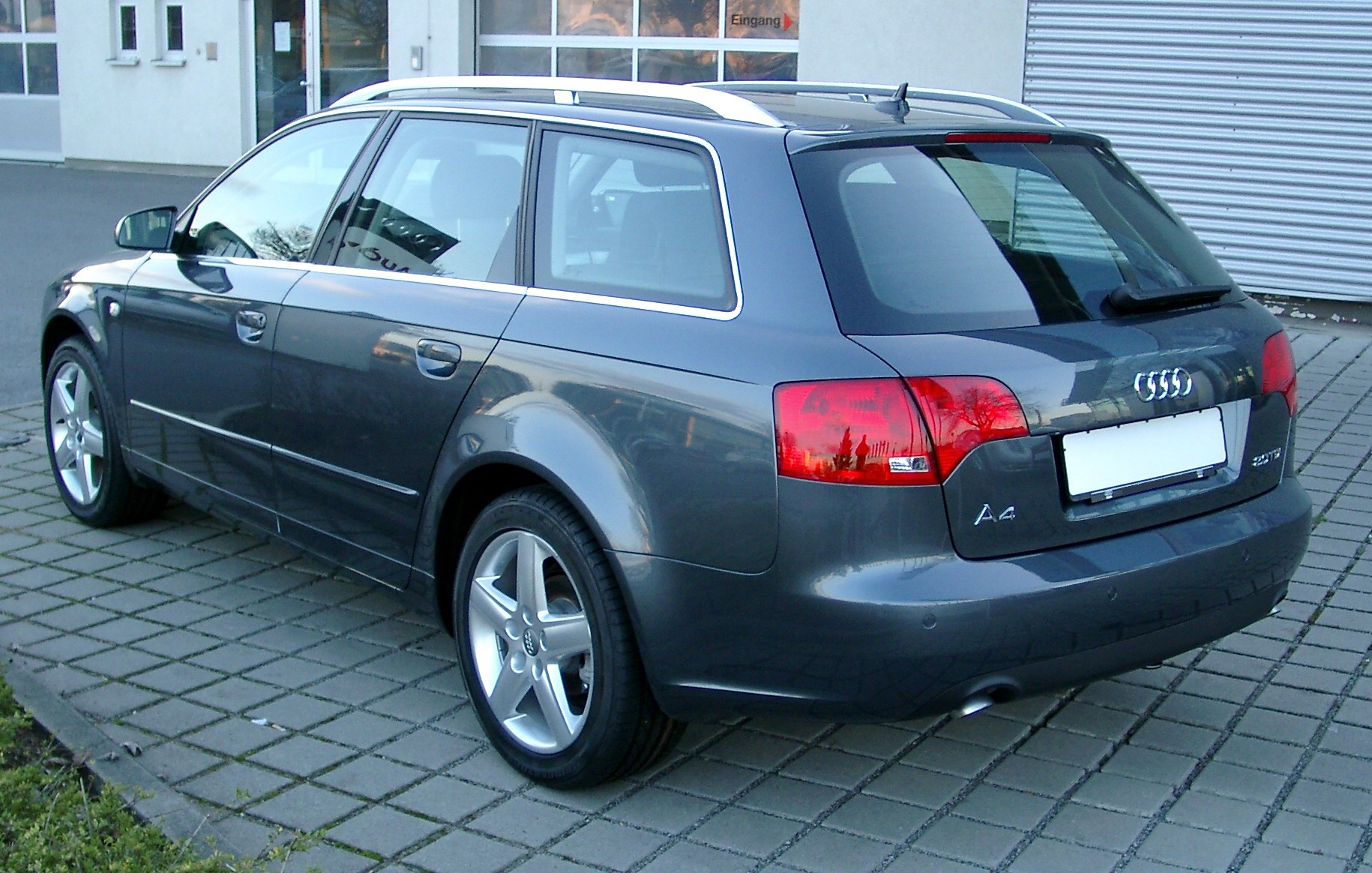2007 audi a4 avant 8e pictures information and specs. Black Bedroom Furniture Sets. Home Design Ideas