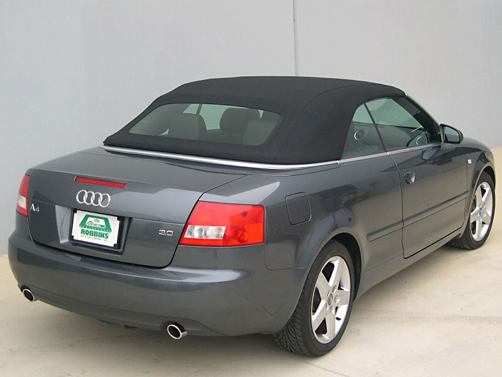 2003 Audi A4 cabriolet - pictures, information and specs - Auto-Database.com