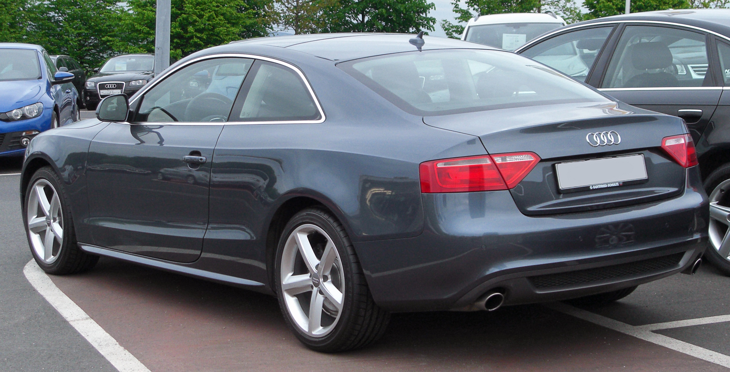 2007 audi a5 8t3 pictures information and specs auto. Black Bedroom Furniture Sets. Home Design Ideas