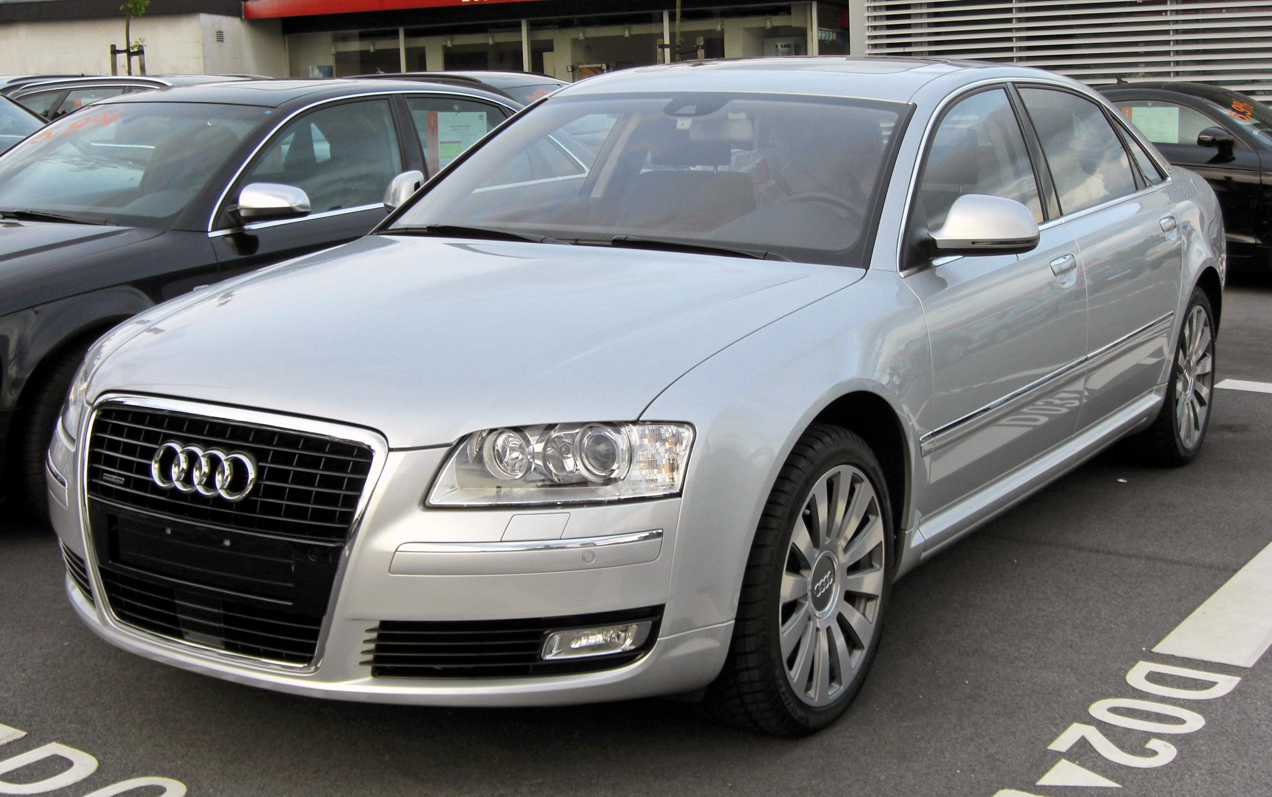 audi a8 (4e) 2007 pictures #2