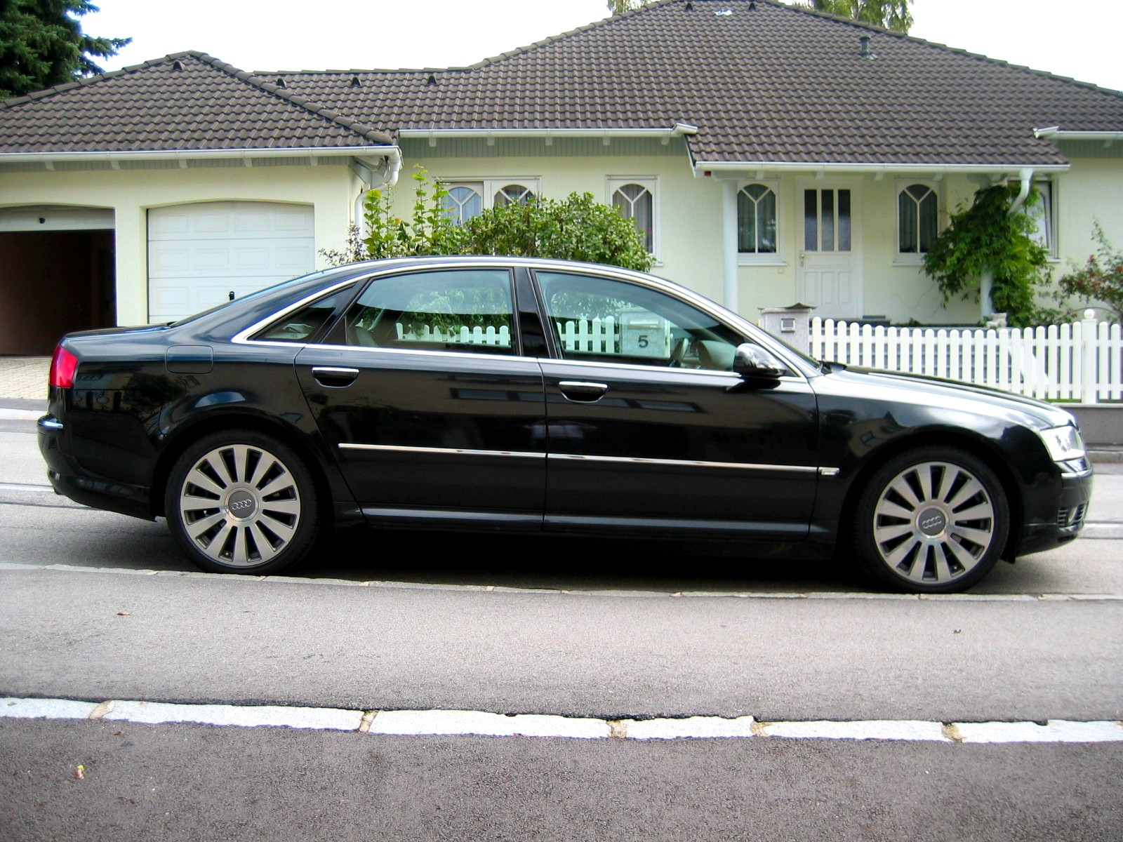 audi a8 (4e) 2007 pictures #10