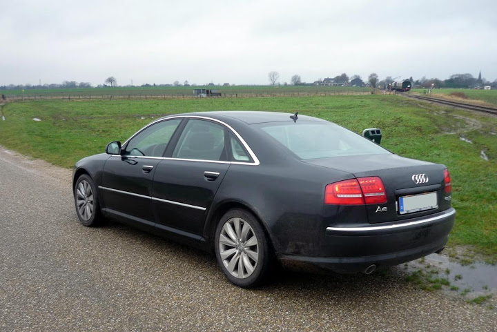 audi a8 long (4e) 2008 images #7