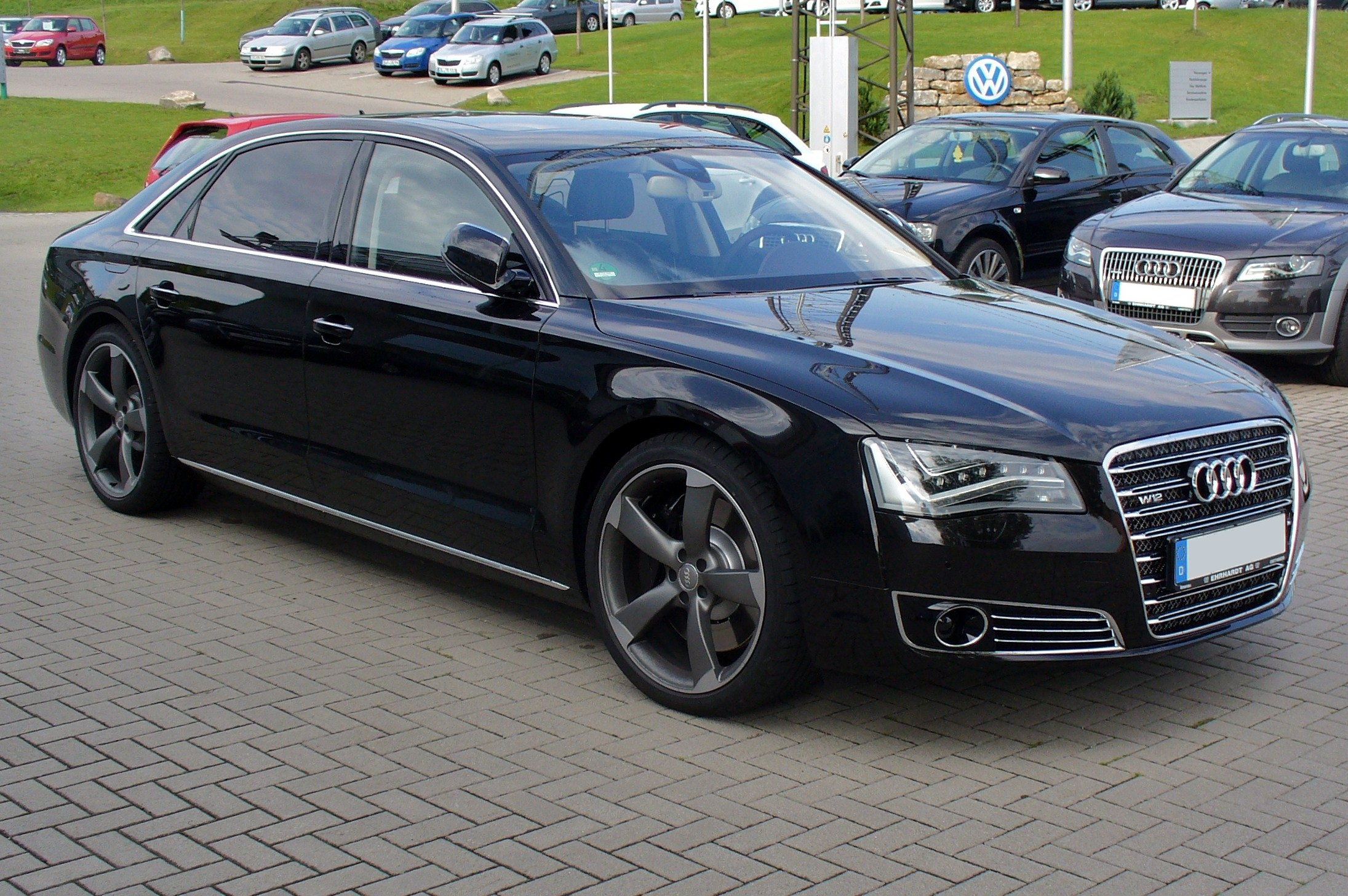 audi a8 long (4e) 2008 images #15