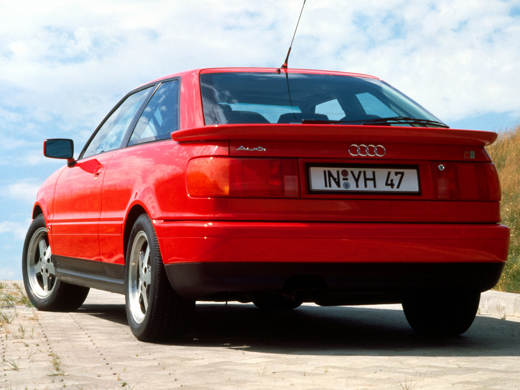audi coupe (89,8b) 1990 pictures