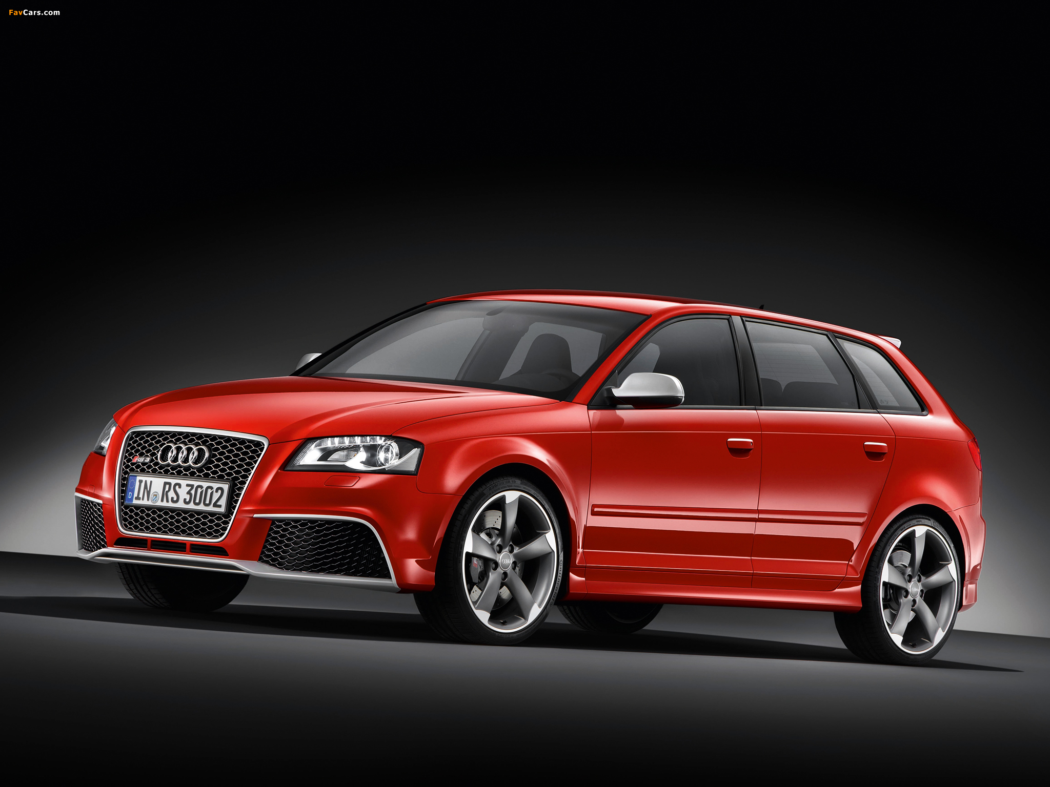 audi rs3 sportback (8pa) 2010 wallpaper #2