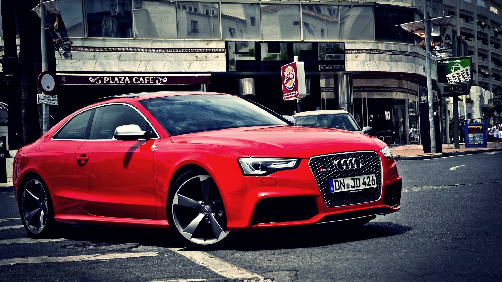 audi rs5 pictures