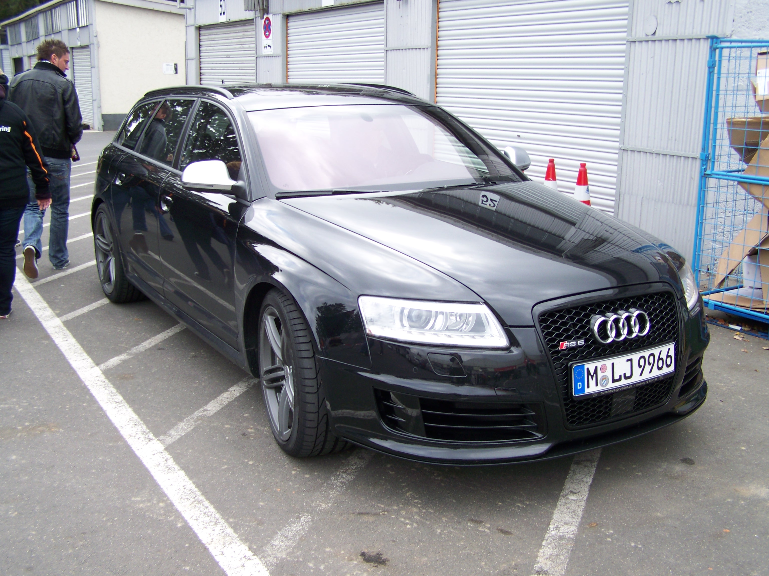 audi rs6 c6 avant 2008 wallpaper