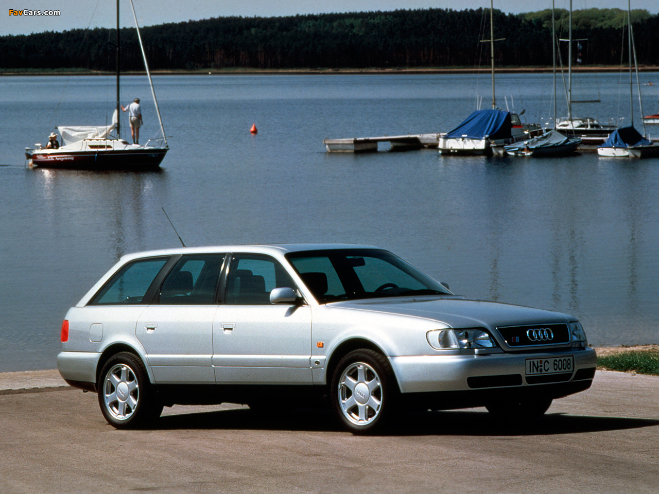 audi s6 (4a,c4) 1994 pictures