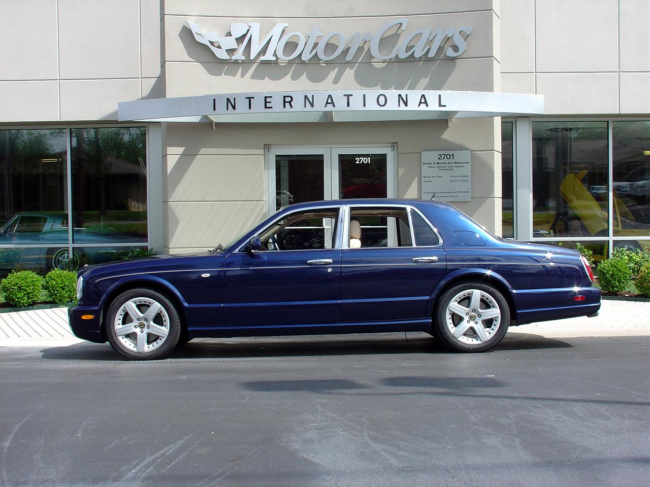 bentley arnage i 2002 pics #3