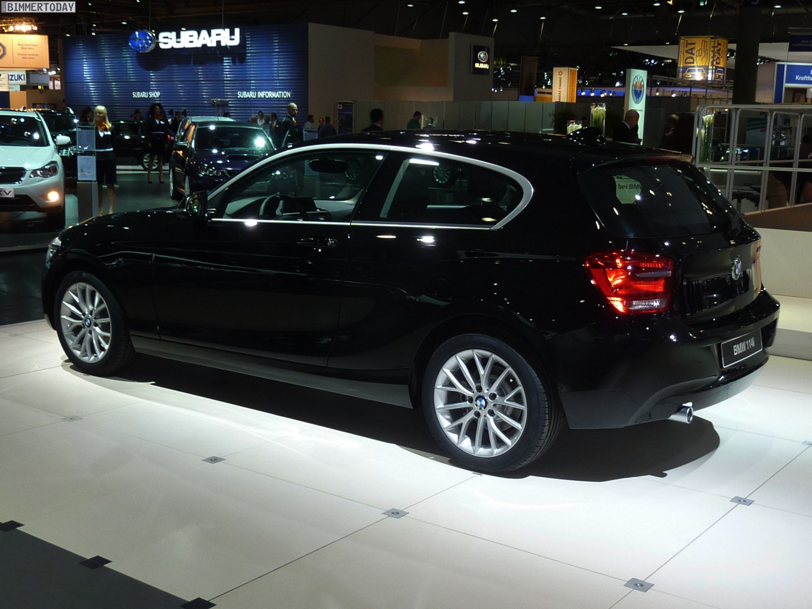 bmw 1er (f21) 2014 pictures