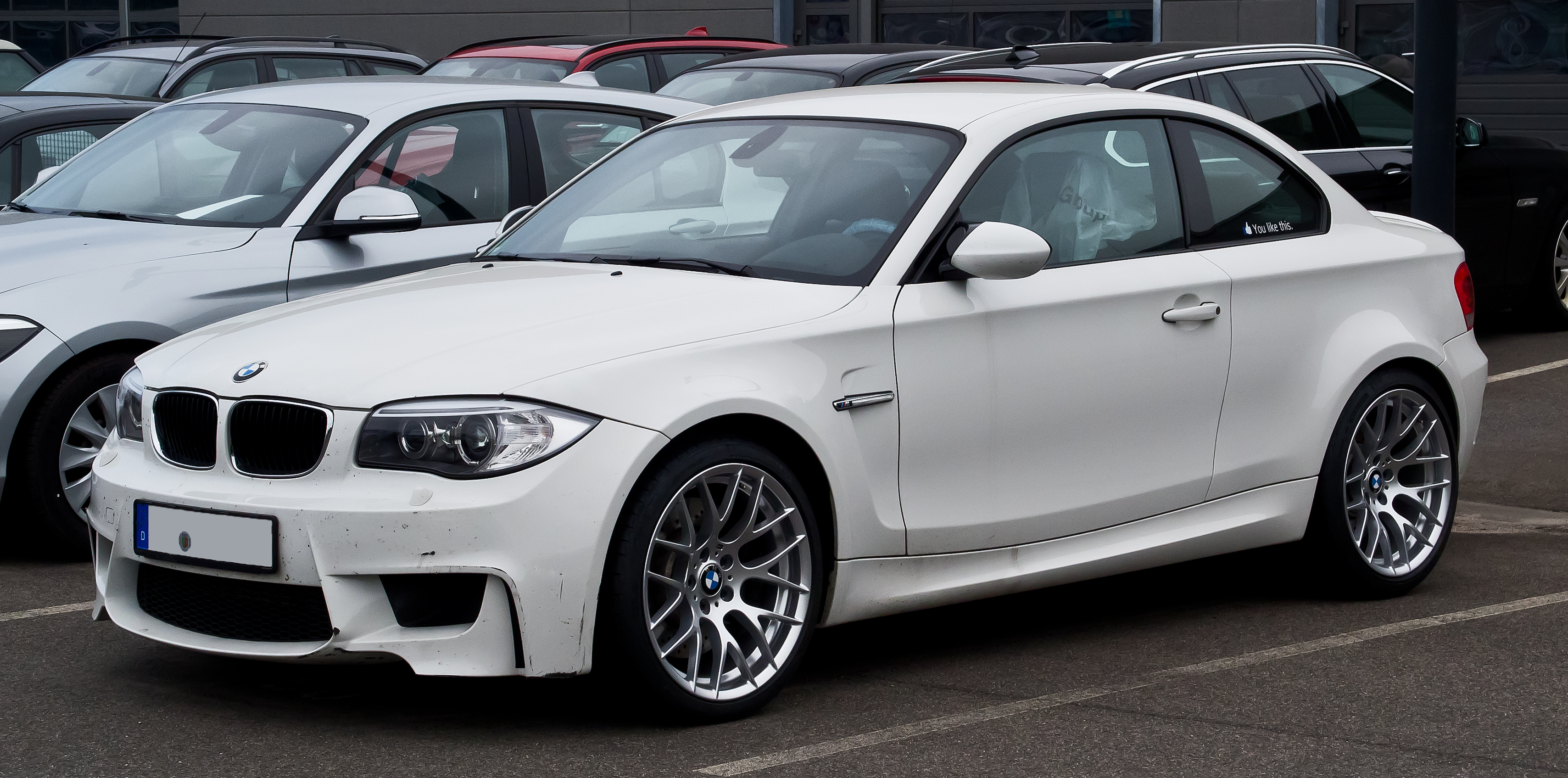 bmw 1er m coupe (e82) 2013 pictures #1