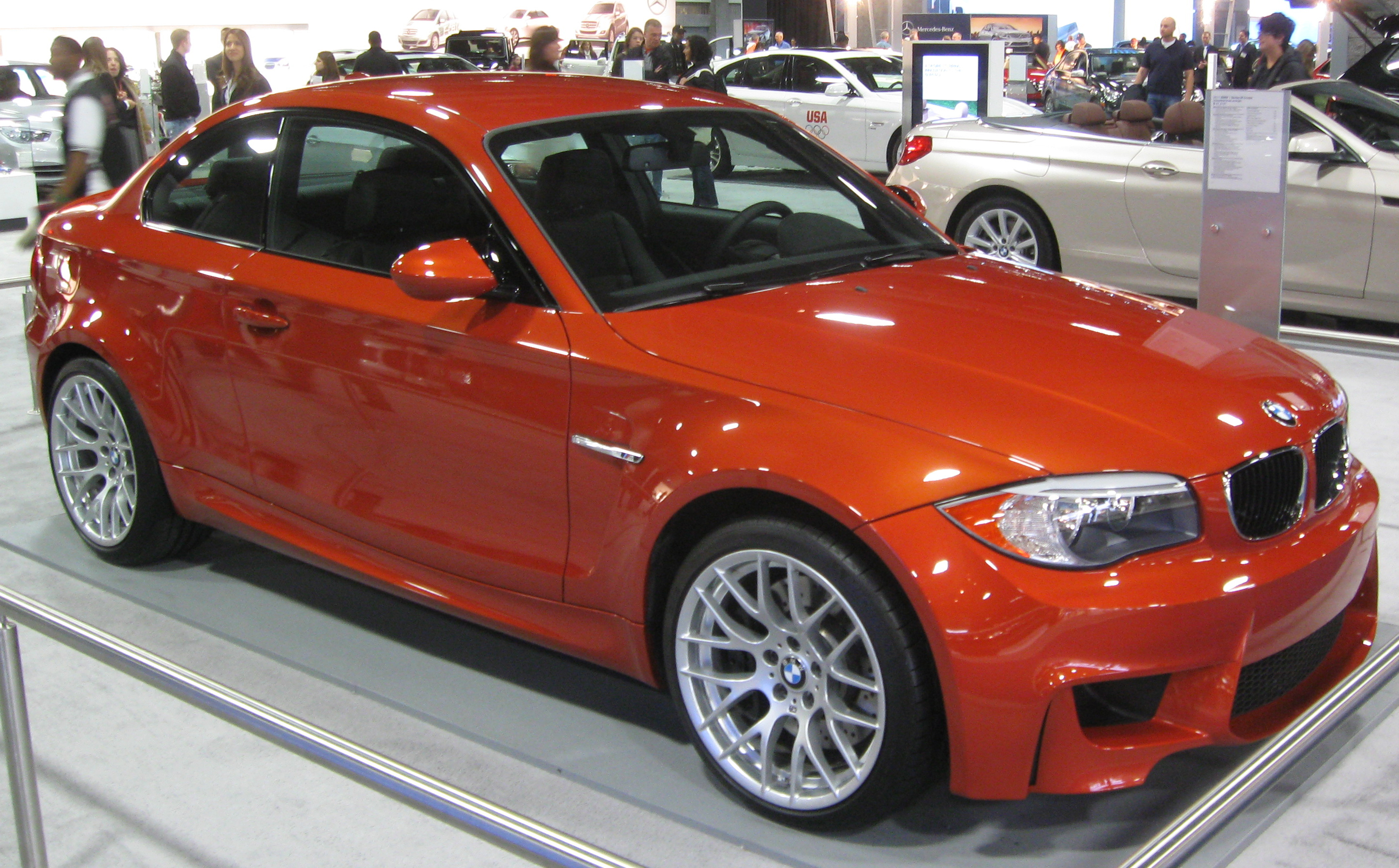 bmw 1er m coupe (e82) 2015 models