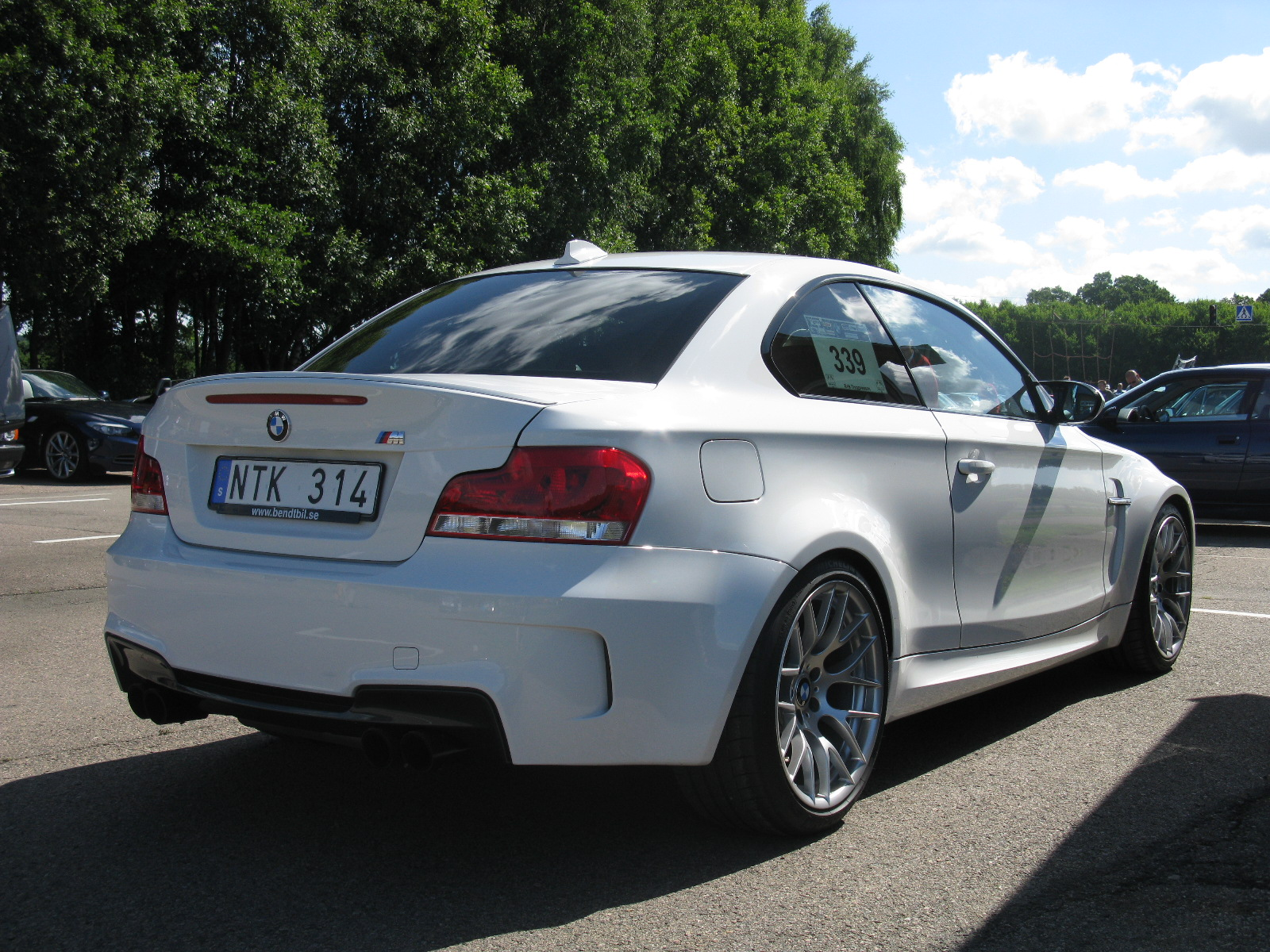 bmw 1er m coupe (e82) 2015 wallpaper