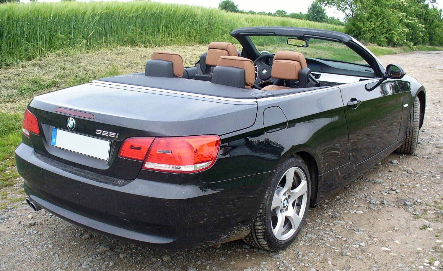 bmw 3 series cabrio (e93) 2008 wallpaper