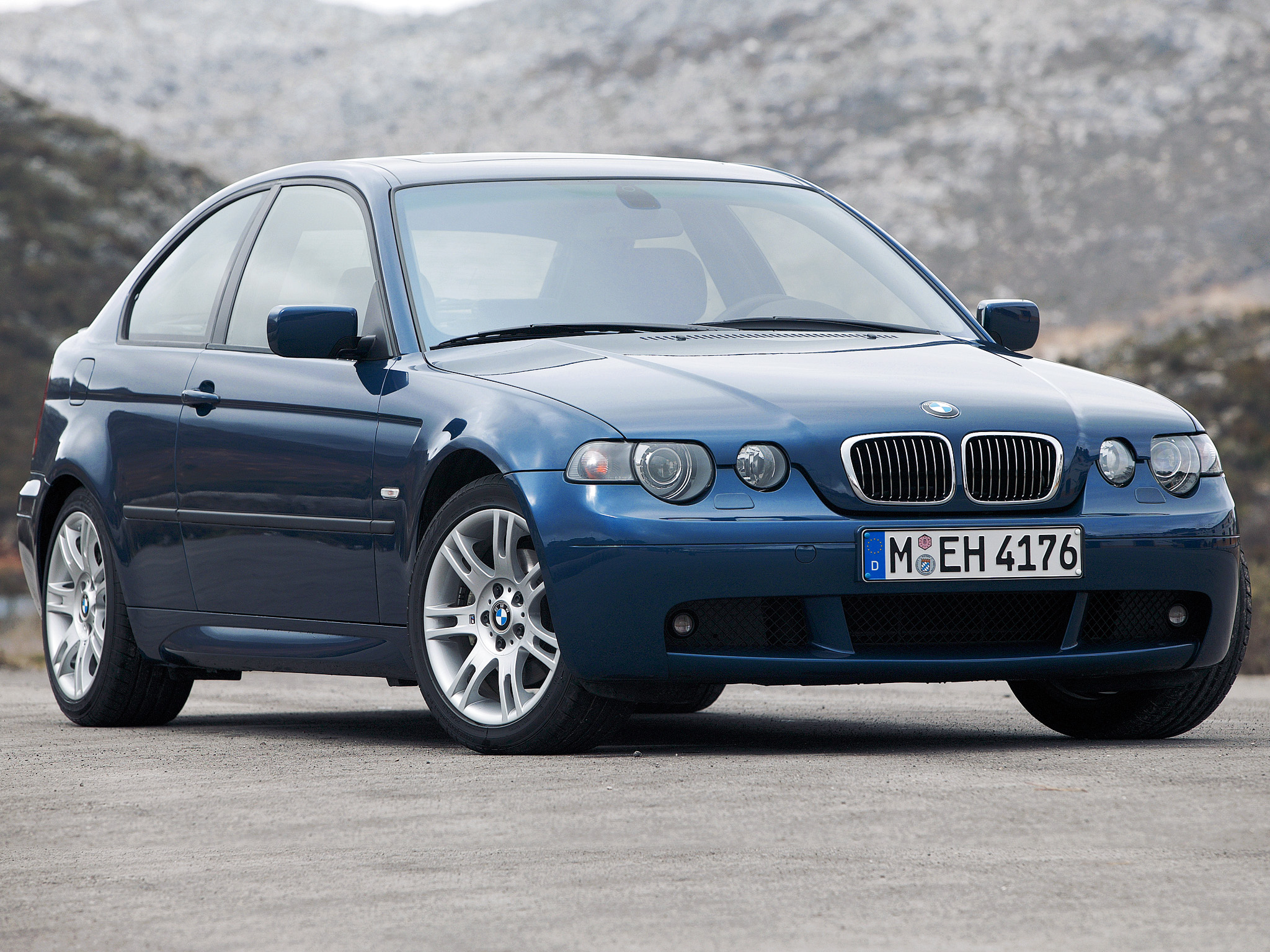 bmw 3 series compact (e46) 2003 images #12