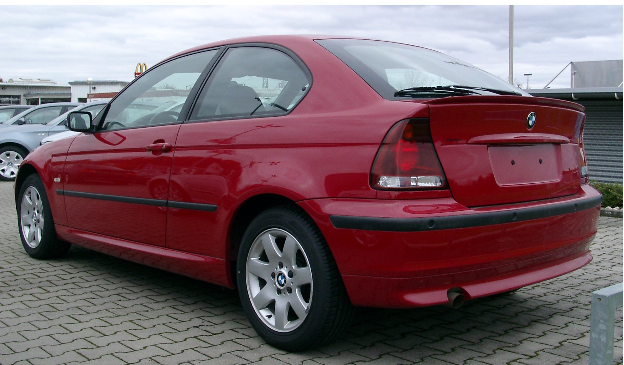 bmw 3 series compact (e46) 2003 models #3