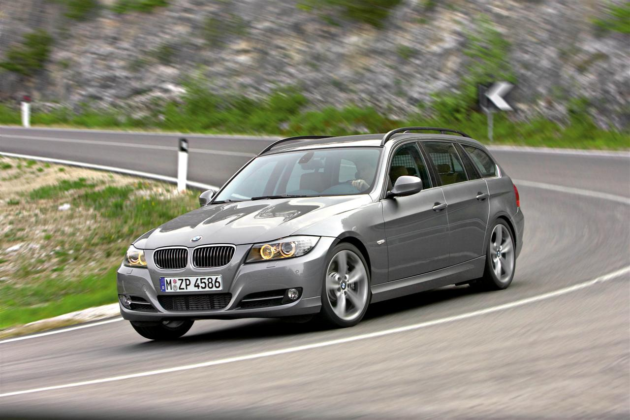 2009 Bmw 3 series touring (e91) – pictures, information and specs ...