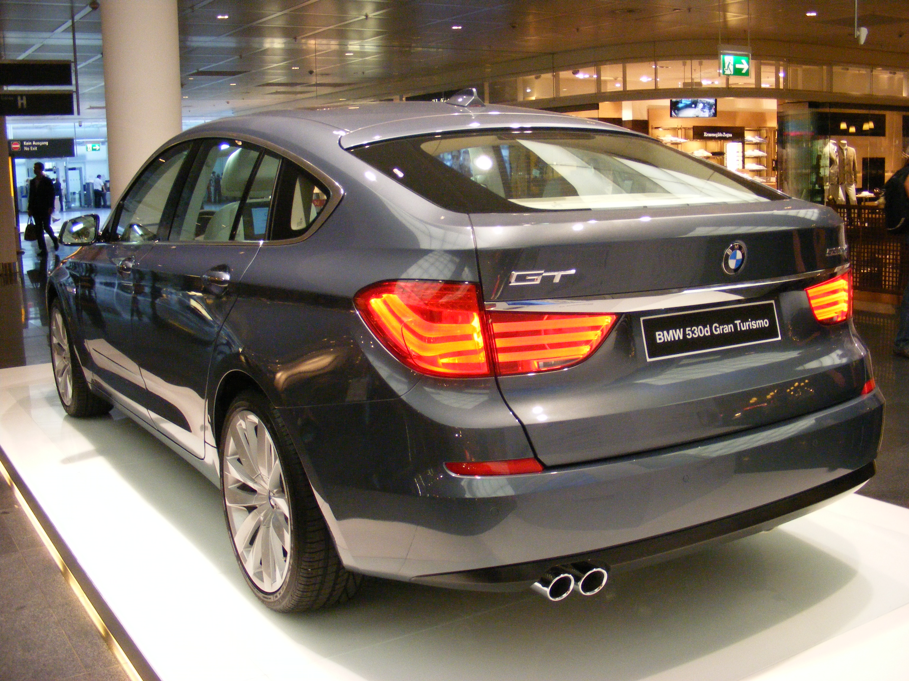 bmw 5 gran turismo pictures #4