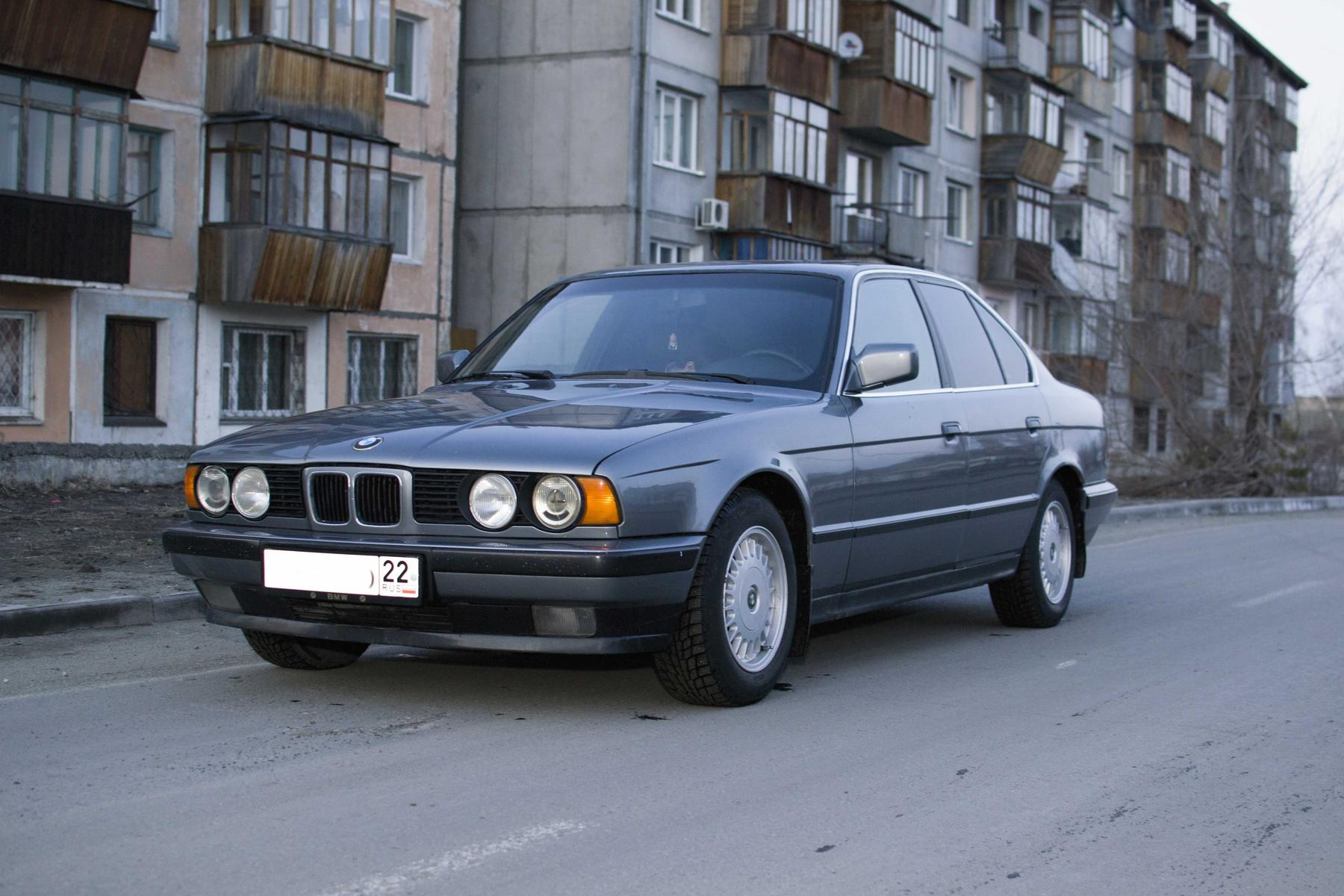 1992 Bmw 5er E34 Pictures Information And Specs 5 Series 1