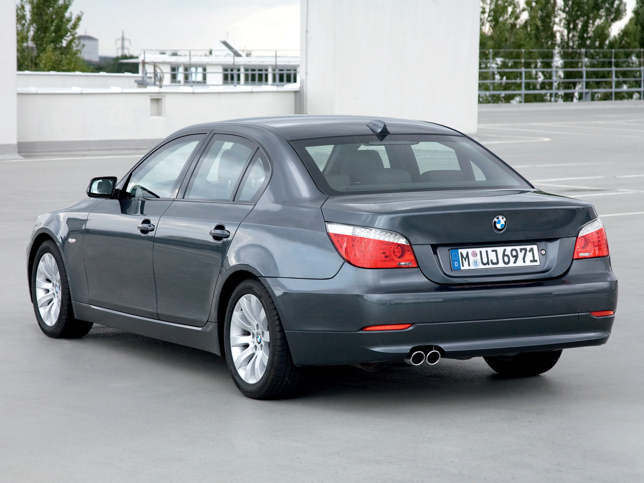 2008 Bmw 5er E60 Pictures Information And Specs