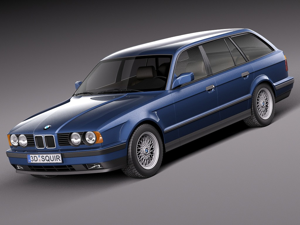 1991 bmw 5er touring e34 pictures information and specs auto. Black Bedroom Furniture Sets. Home Design Ideas