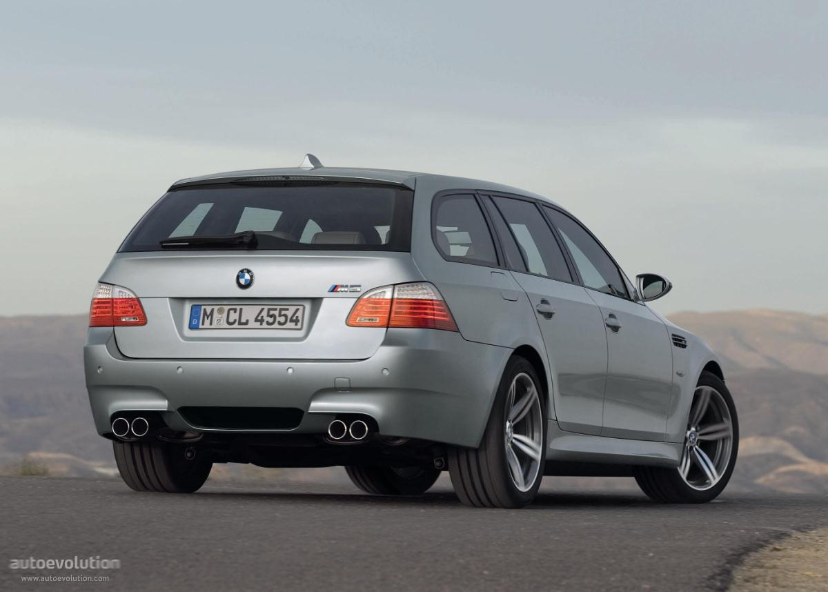 2008 Bmw 5er touring (e61) – pictures, information and ...